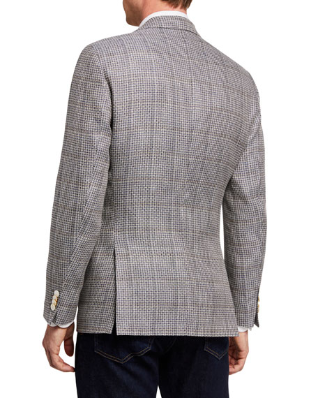Image 2 of 3: BOSS Men's Microweave Two-Button Jacket