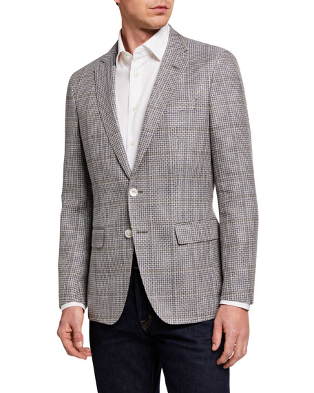 Image 1 of 3: BOSS Men's Microweave Two-Button Jacket