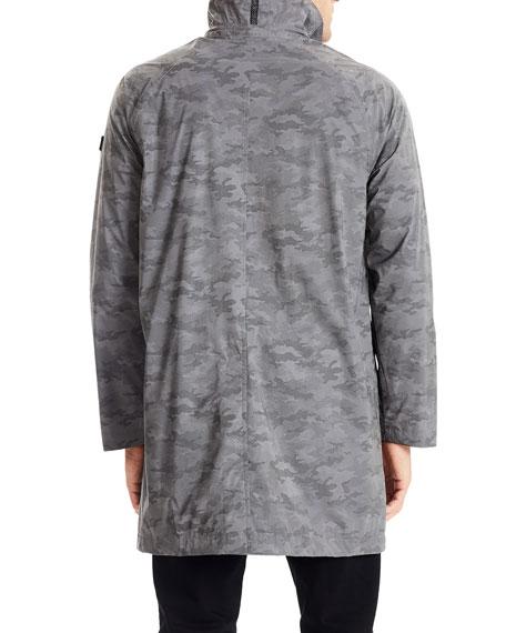 Tumi Men's Camo Reflective Rain Jacket