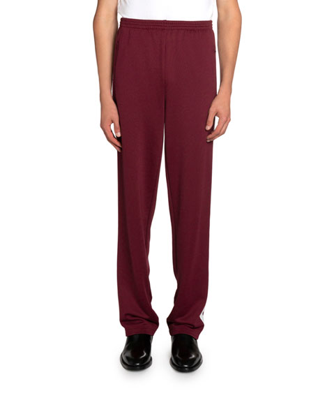 Balenciaga Men's Jersey Tech Track Pants