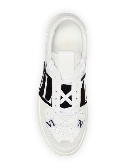 Valentino Men's Rockstud Walker Leather Sneakers