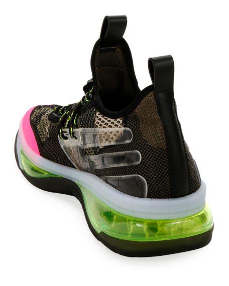 Valentino Men's V-Cloud Colorblock Sock Sneakers