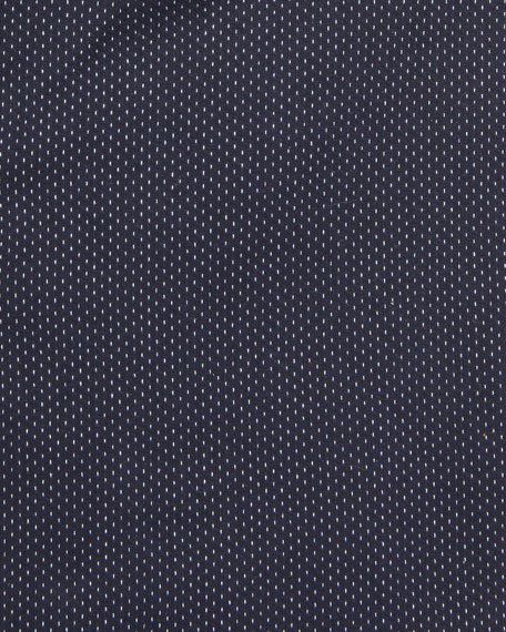 Image 2 of 2: BOSS Men's Travel Slim-Fit Dotted Dress Shirt