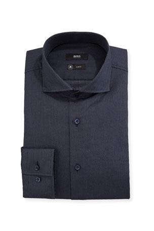 Mens Designer Slim Fit Dress Contrast Single Collar Brown,Long Sleeve Shirt,SALE