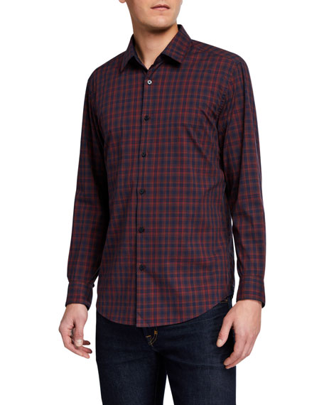 BOSS Men's Printed Slim-Fit Sport Shirt