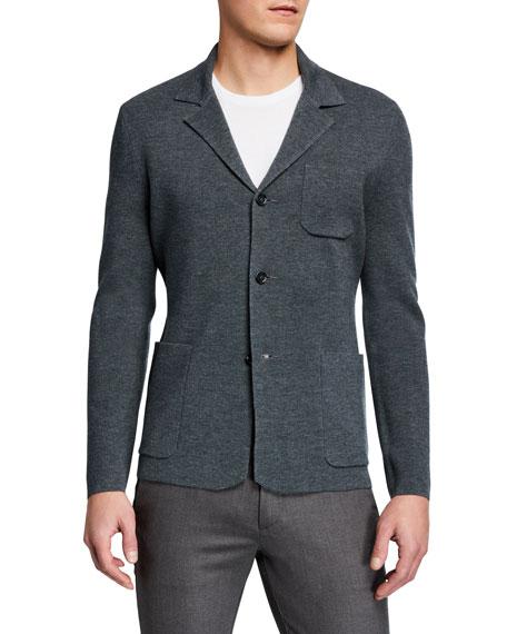 BOSS Men's Fitted Wool Blazer