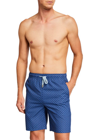 Peter Millar Men's Shell Neat Swim Shorts