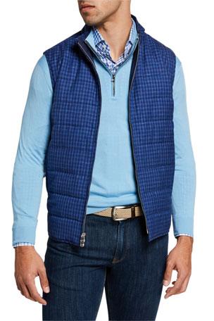 Peter Millar Men's Countryside Wool-Blend Vest