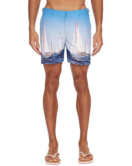 Orlebar Brown Pants Men's Bulldog Photographic Swim Trunks