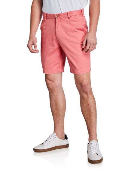 Peter Millar Shorts Men's Soft Touch Twill Shorts