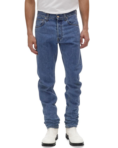 Men's Accelerated Masc High-Rise Straight-Leg Jeans