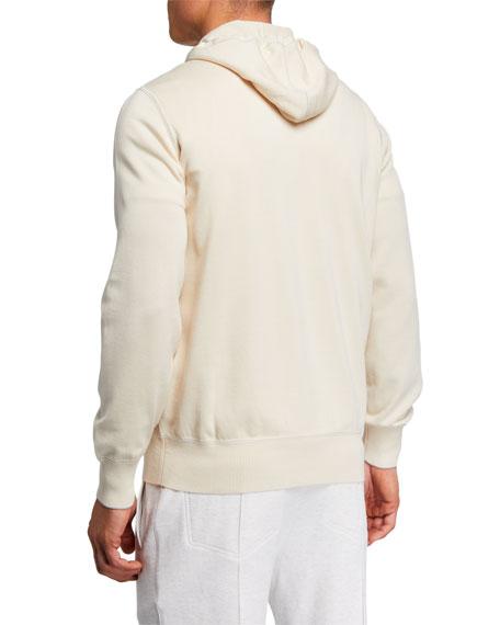 Brunello Cucinelli Men's Zip-Front Hoodie