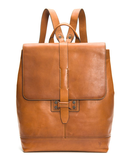 Frye Backpacks Men's Bowery Leather Backpack