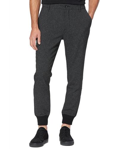 Men's Elmwood Luxe Tweed Jogger Pants