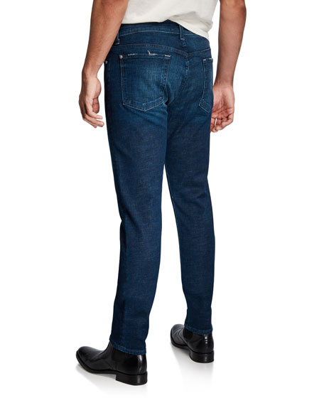 7 For All Mankind Men's Adrien Slim Taper Clean-Pocket Denim Jeans