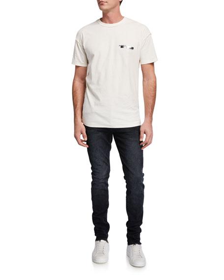 PURPLE Men's Dark-Wash Slim Jeans