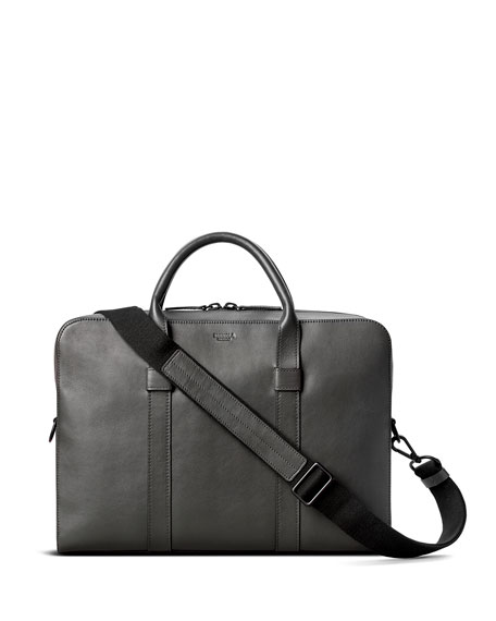 Shinola Men's Guardian Leather Briefcase Bag