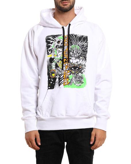 Diesel Men's Alby Graphic Pullover Hoodie