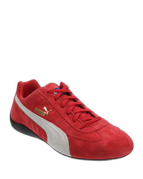 Puma Men's Speedcat OG Sparco Suede Running Sneakers