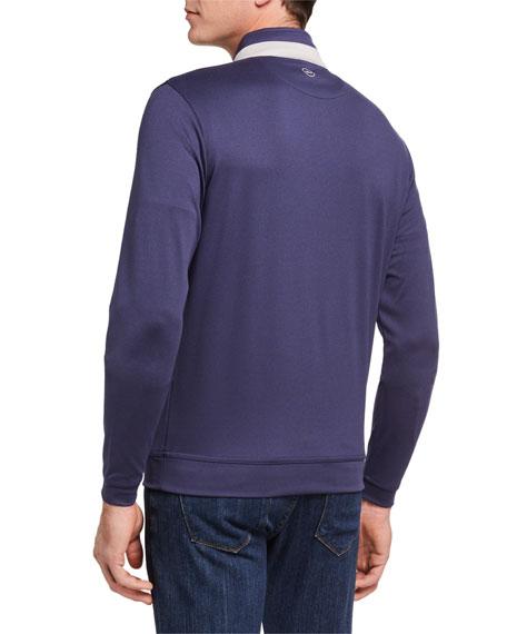 Peter Millar Men's Quarter-Zip Pullover Sweater