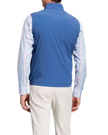 Peter Millar Men's Stealth Light Stretch Vest
