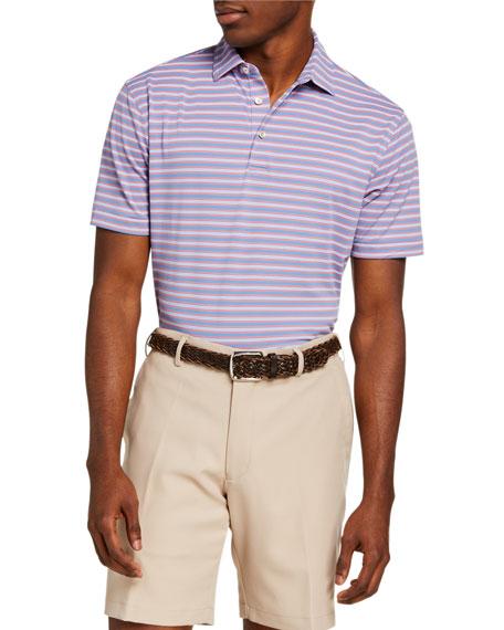 Peter Millar Men's King Stripe Polo Shirt