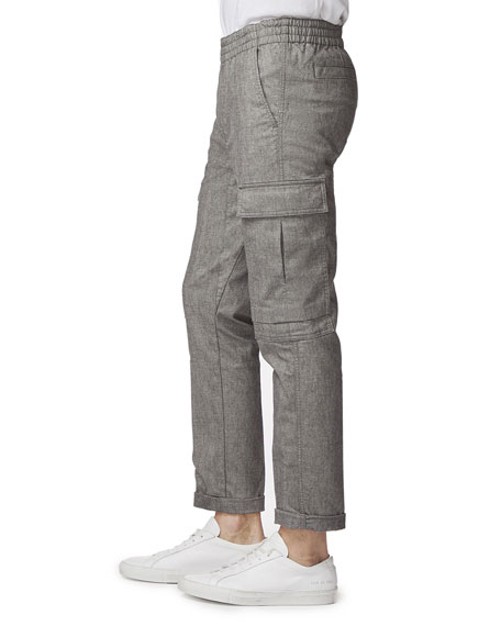 Image 1 of 2: Men's Fenix Cropped Cargo Pants