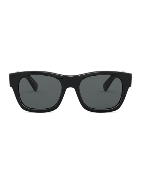 Image 2 of 2: Oliver Peoples Men's Keenan Square Polarized Sunglasses