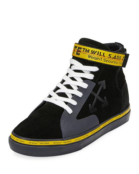 Off-White Men's Vulcan Mid-Top Skate Sneakers