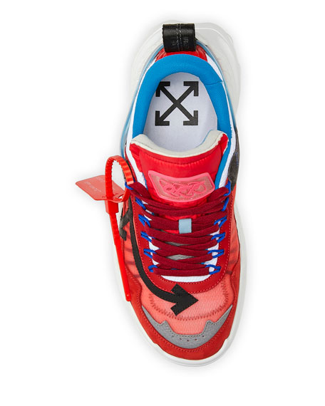 Off-White Men's Odsy-1000 Arrow Hiking Sneakers