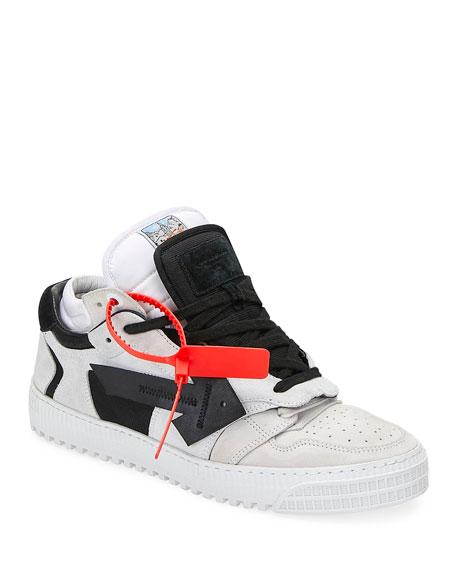 Off-White Men's Off Court Suede Arrow Sneakers