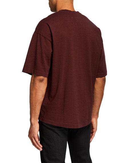 J Brand Men's Baldi Pocket Oversized T-Shirt