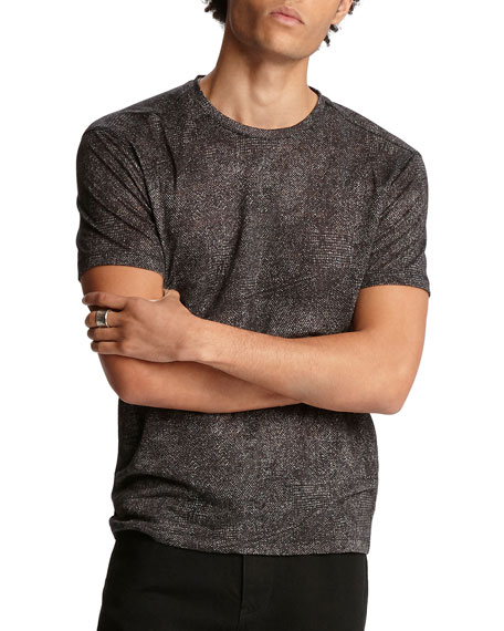 John Varvatos Men's Easy-Fit Crewneck T-Shirt