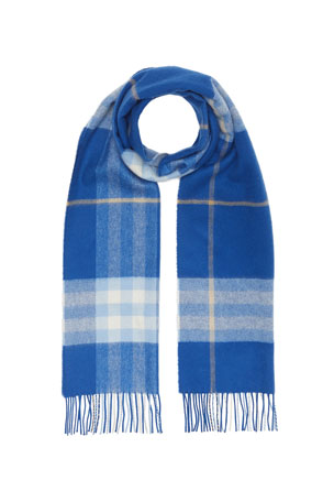 Burberry Men's Giant Icon Cashmere Scarf
