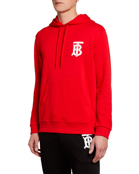 Burberry Men's Landon TB Logo Hoodie Sweatshirt