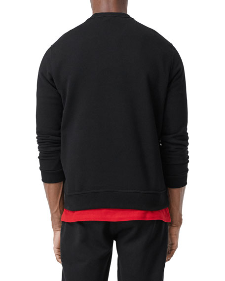 Image 2 of 3: Burberry Men's TB Logo Pullover Sweatshirt