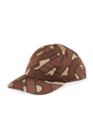 Burberry Men's Maxi TB Logo Baseball Cap