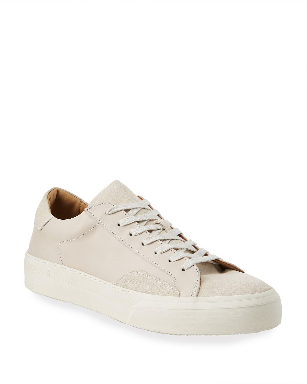 315 Mac Leather/Suede Tonal Sneakers