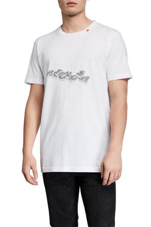 Off-White Men's 3D Pencil Slim T-Shirt