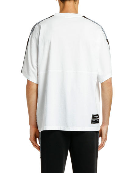 Image 2 of 2: Marcelo Burlon Men's County Tape T-Shirt