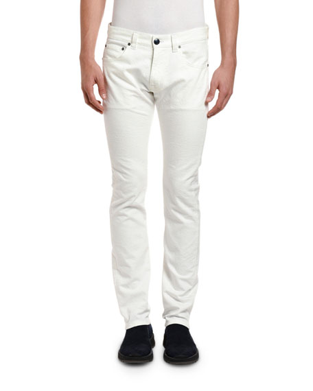 Etro Men's Skinny Stretch-Denim Jeans