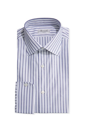 Charvet Men's Striped Sport Shirt