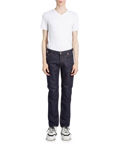 Berluti Men's Dark-Wash Straight-Leg Jeans