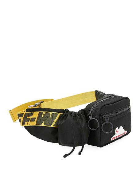 Off-White Men's Equipment Multi-Pocket Belt Bag