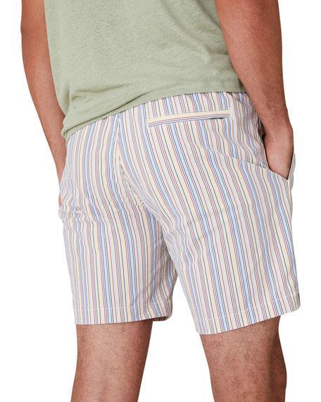 "Onia Men's Charles 7"" Stripe Swim Trunks"