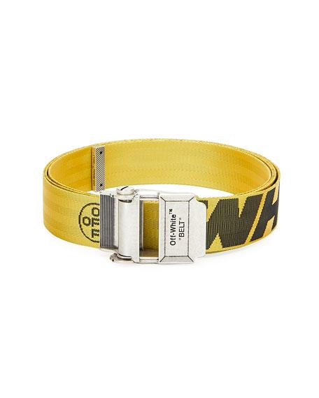 Off-White Belt Men's Industrial Web Logo Belt