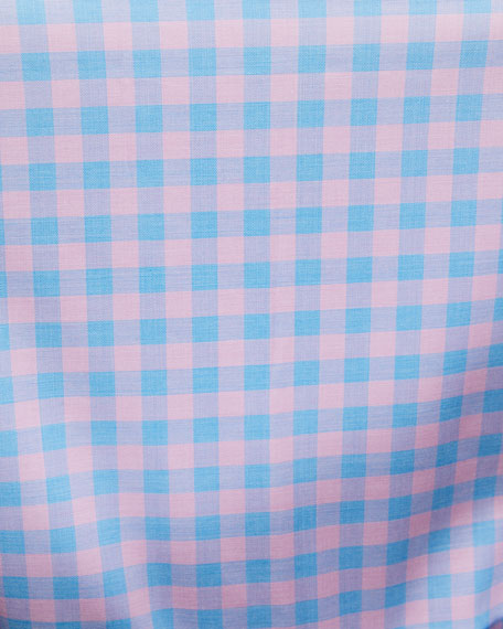 Peter Millar Men's Crown Garrett Check Sport Shirt