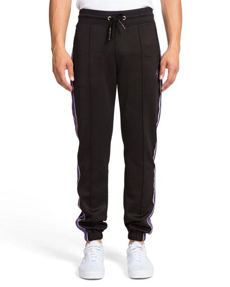 PRPS Men's Side-Stripe Cherub Track Suit Pants