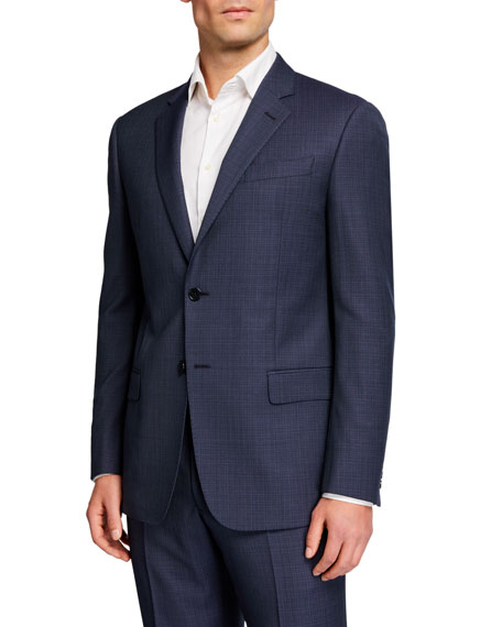 Emporio Armani Men's G Line Wool Two-Piece Suit