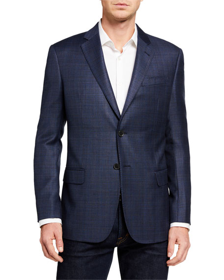 Emporio Armani Men's G Line Super 130s Virgin Wool Sport Jacket